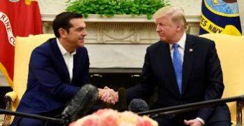 συνάντηση Τσίπρα-Τραμπ