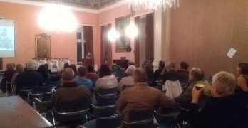 Εκδήλωση για τα 100 χρόνια από τη Μεγάλη Οκτωβριανή Επανάσταση από την ΚΟ Σύρου του ΚΚΕ