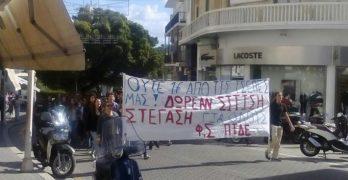 Σε εξέλιξη η κινητοποίηση φοιτητών στο Πανεπιστήμιο Αιγαίου για σίτιση, στέγαση, δωρεάν Παιδεία για όλους