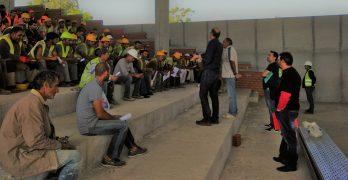 Οικοδόμοι Αρχαγγέλου: Περιοδεία στο εργοτάξιο της TUI