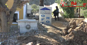 Ρεπορτάζ από τις καταστροφές στη Σύμη (Video)
