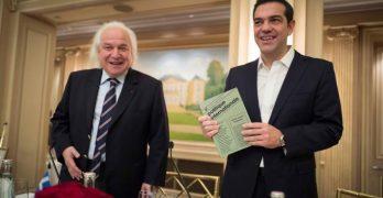 """Βραβείο """"πολιτικού σθένους"""" για την αντιλαϊκή πολιτική στο Τσίπρα"""