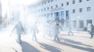 Επίθεση ΜΑΤ σε σπουδαστές