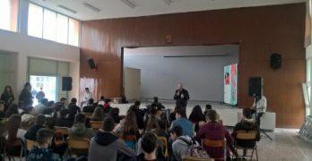 Εκδήλωση των μαθητών του Εσπ.ΕΠΑΛ για την προστασία της Υγείας και της Ασφάλειας των εργαζομένων