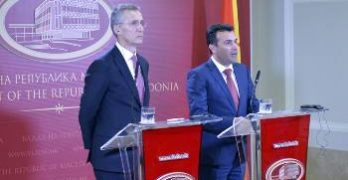 επίσκεψη ΓΓ του ΝΑΤΟ στα Σκόπια