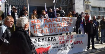 Κινητοποίηση του ΠΑΜΕ στη Ρόδο για το πολυνομοσχέδιο και τις απολύσεις