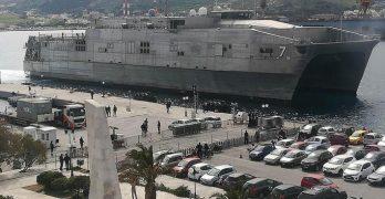Η άφιξη του πλοίου Carson City στο λιμάνι της Σύρου, μπλέκει την περιοχή στους ιμπεριαλιστικούς ανταγωνισμούς