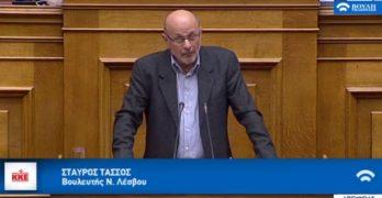 Ομιλία του Βουλευτή του ΚΚΕ Σταύρου Τάσσου στην ειδική εκδήλωση της Βουλής για την Ενσωμάτωση