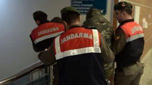 έλληνες στρατιωτικοί στη Τουρκία