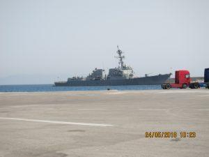 Forrest Sherman Αμερικάνικο πολεμικό πλοίο