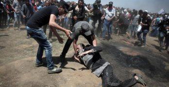 επίθεση Ισραήλ κατά Παλαιστινίων