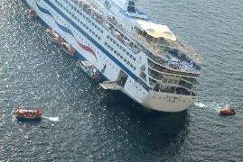 Βυθίστηκε το φράγμα στο ναυάγιο του Sea Diamond
