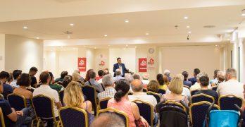 Ολοκληρώθηκε η διήμερη περιοδεία του βουλευτή του ΚΚΕ Μ. Συντυχάκη στη Ρόδο