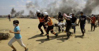 σφαγή Παλαιστινίων από Ισραήλ