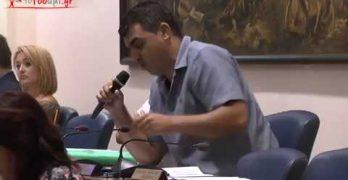 Τάκης Πότσος στο Δημοτικό Συμβούλιο