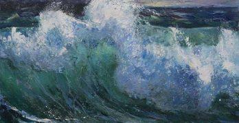 Ζωγραφική έκθεση της Μαρίας Κτιστοπούλου, με τίτλο «Χώμα και Νερό»