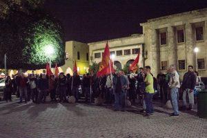 συγκέντρωση ΚΚΕ ενάντια στις Βάσεις του ΝΑΤΟ