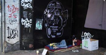 άστεγος Ελλάδα